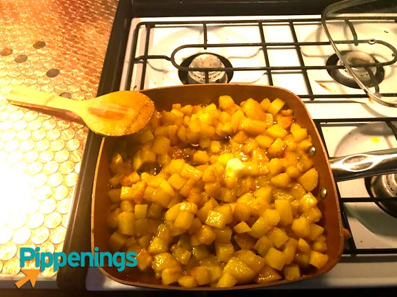 Soft, savory Indian potatoes inspired by the Bengali Dish, Aloo Posto